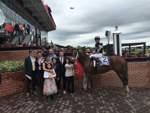 Preakness - R7 Chief Istan winners circle 1