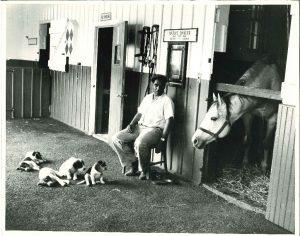native dancer man and pups